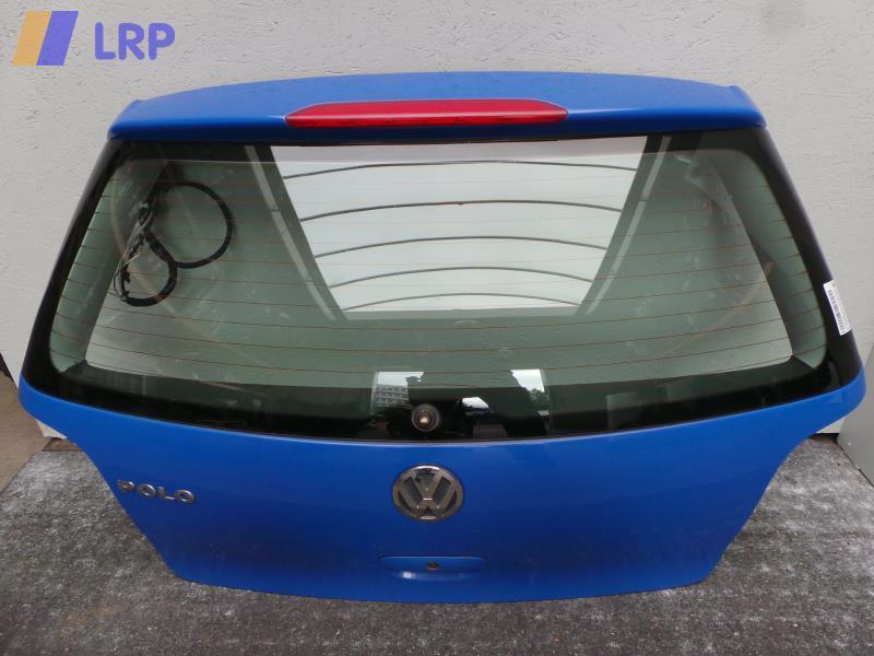 VW Polo 9N 9N1 Bj.2002 Heckklappe kpl. mit Wischermotor Kofferraumklappe