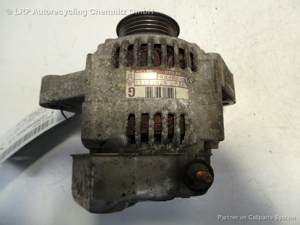 Daihatsu Cuore L701 BJ 2000 Lichtmaschine Generator 27060-97202 101211-2731 1.0 41KW