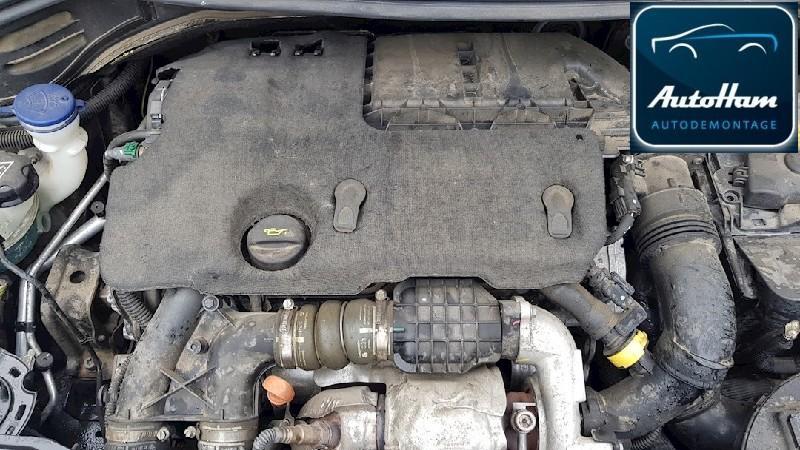 Motor ohne Anbauteile (Diesel) PEUGEOT 207 1.6 HDI 90 68 kW 92 PS (11.2009-> )