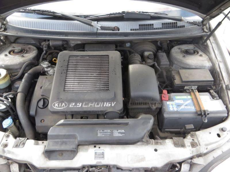 Motor mit Anbauteile vorne J3 KIA CARNIVAL II (GQ) 2.9 CRDI 106 KW Bild 1