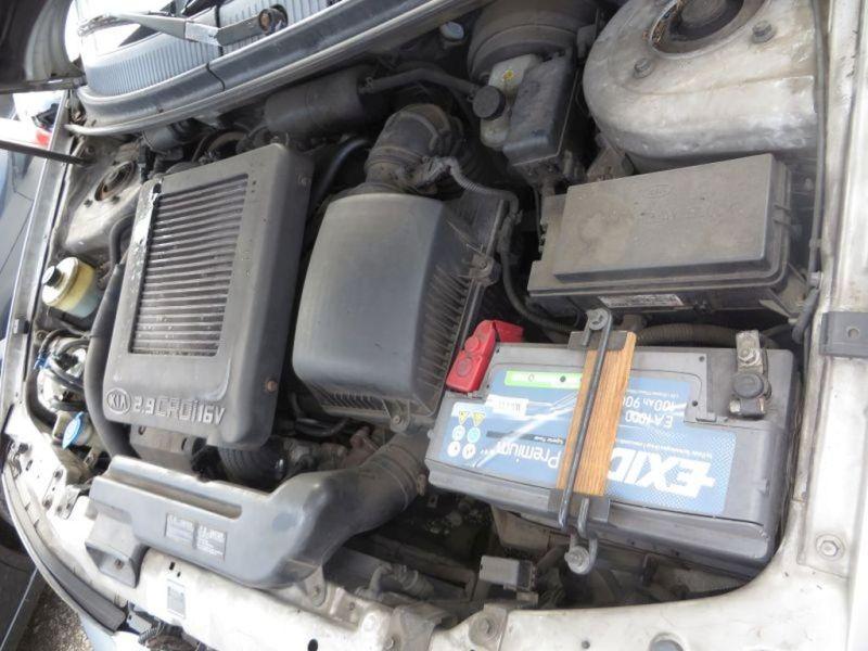 Motor mit Anbauteile vorne J3 KIA CARNIVAL II (GQ) 2.9 CRDI 106 KW Bild 2
