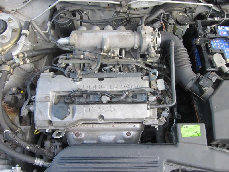 Motor ohne Anbauteile (Benzin) MAZDA 323 F VI (BJ) 1.5 16V 65 kW 88 PS (09.1998-01.2001)