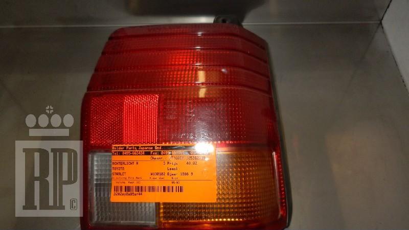 Rückleuchte rechts TOYOTA Starlet (P7) 1.3 55 kW 75 PS (10.1984-12.1989)