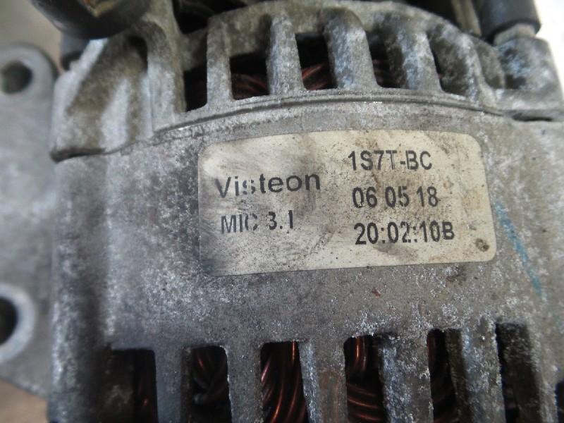 Visteon Lichtmaschine Generator 104A Spannung 12V Rippenanzahl 6 Ford Neu