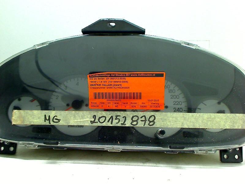 Tachometer MG MG ZS 1.8 86 kW 117 PS (07.2001-04.2005) Bild 1