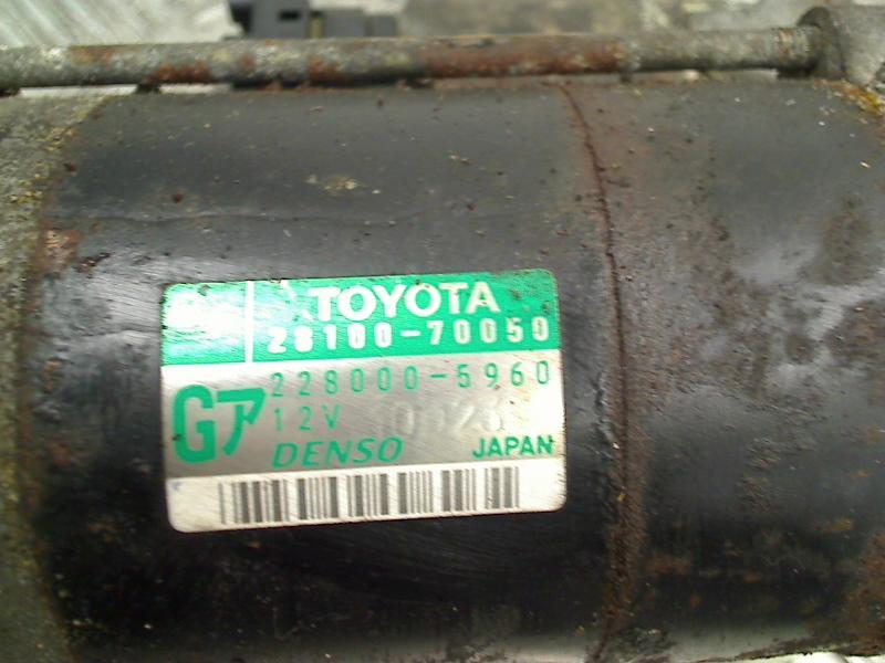 Anlasser LEXUS IS (XE1) IS 200 114 kW 155 PS (04.1999-07.2005) 2280005960 Bild 3