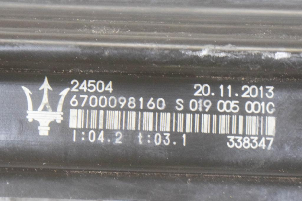 Fensterheber links MASERATI Quattroporte VI 3.0 D 202 kW 275 PS (09.2013-> ) 0130822782 Bild 5