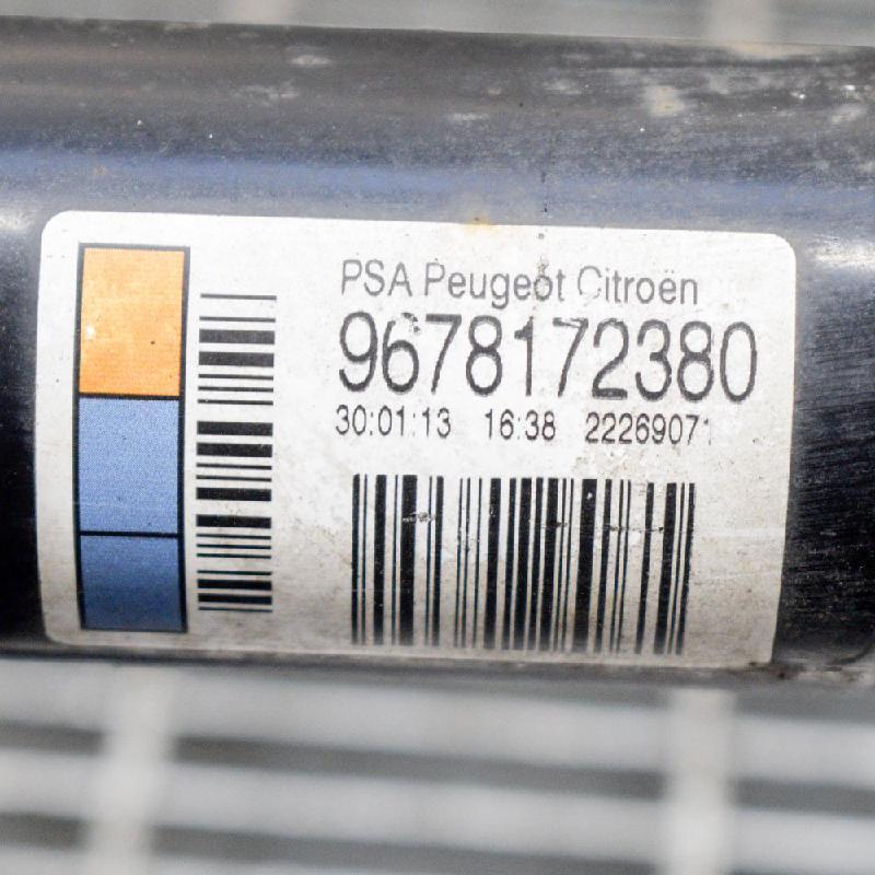 Stoßdämpfersatz Hinterachse CITROEN DS3 Cabriolet 1.2 60 kW 82 PS (01.2013-07.2015) 9678172380 Bild 2