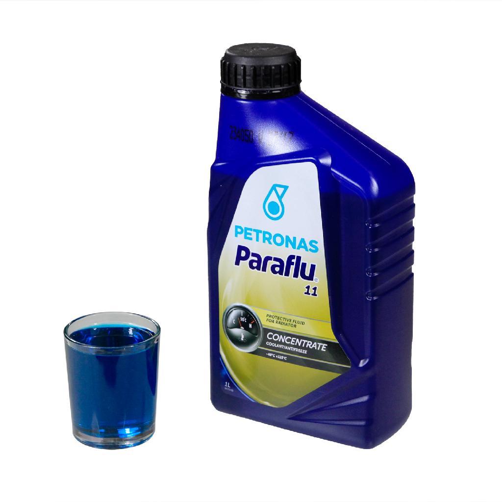 Petronas Paraflu 11 Kühlerfrostschutz Kühlflüssigkeit Blau 1 Liter Fiat 9.55523 Bild 2