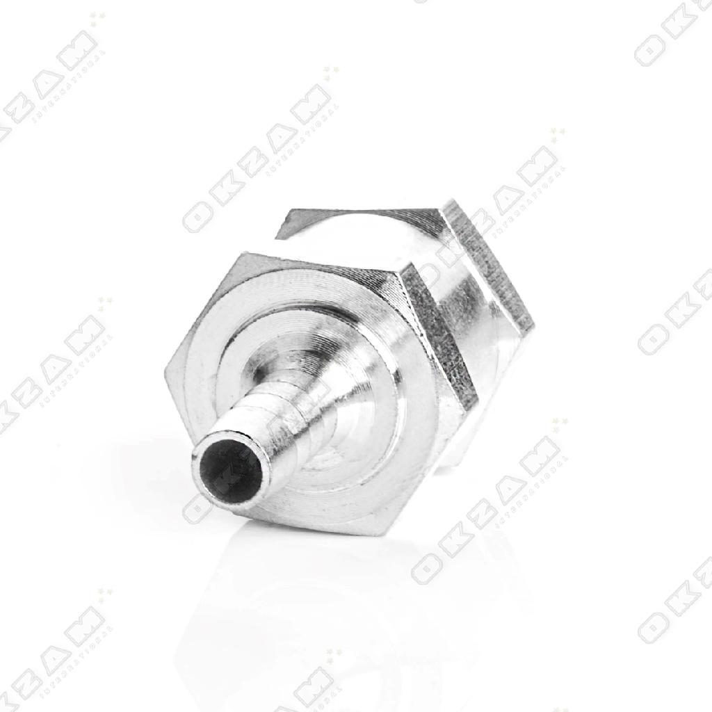 Rückschlagventil aus Aluminiumlegierung Ø 6mm für Kraftsstoff Treibstoff Wasser Bild 5