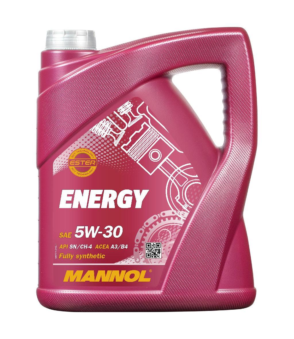 Motoröl MANNOL MN7511-5 Energy 5W-30 5-Liter Benzin und Diesel Bild 1