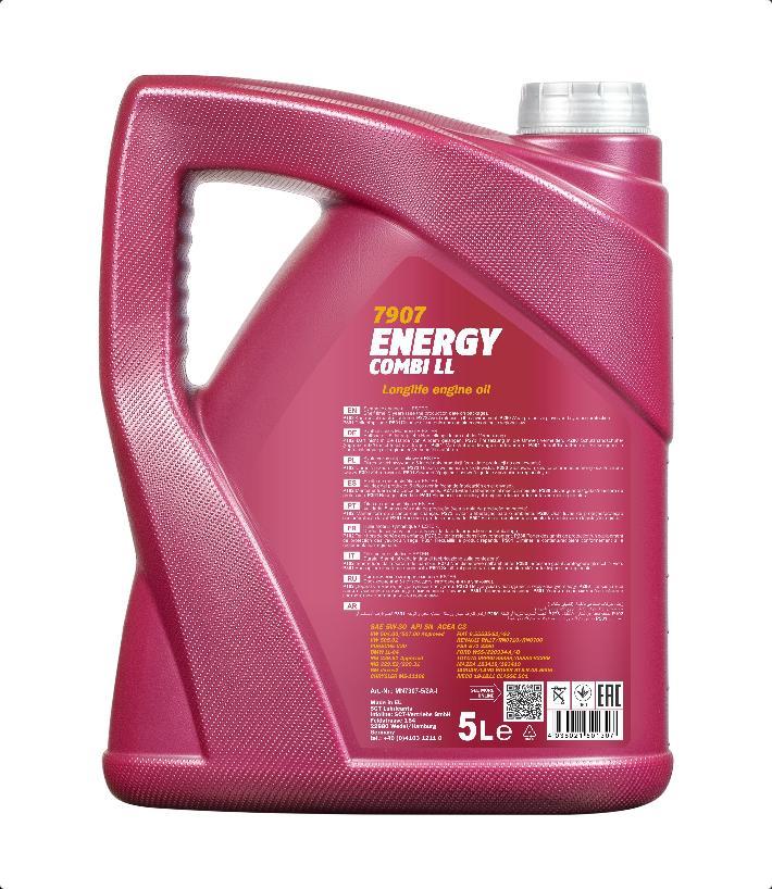Motoröl MANNOL MN7907-5 Energy Combi LL 5W-30 5-Liter Longlife Benzin Diesel Bild 2