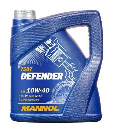 Motoröl MANNOL MN7507-5 Defender 10W-40 5-Liter Benzin Diesel Bild 2