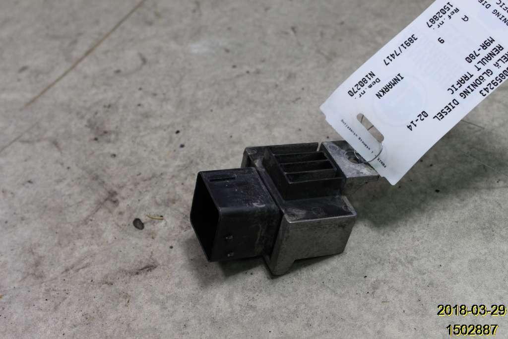 Relais Vorglüh RENAULT TRAFIC II Box (FL) 8200859243