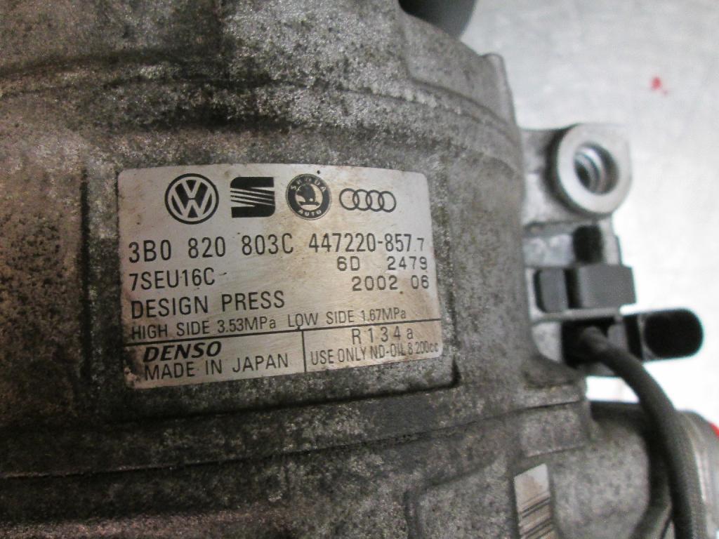 Klimapumpe VW TOUAREG (7LA, 7L6, 7L7) 3B0820803C Bild 2