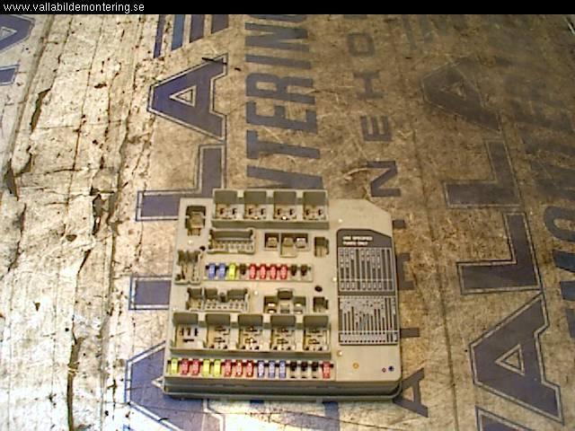 Sicherungskasten NISSAN MICRA III (K12) 284B7AX61A