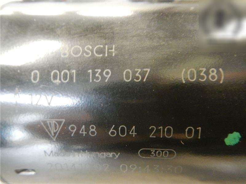 Anlasser PORSCHE PANAMERA (970) 0001139037 Bild 2