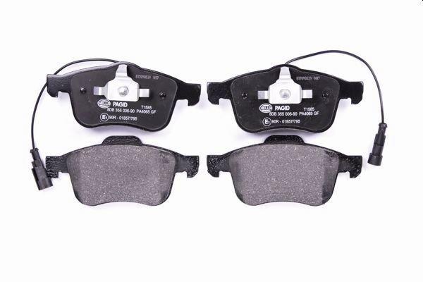 Bremsbelagsatz, Scheibenbremse HELLA 8DB 355 006-901