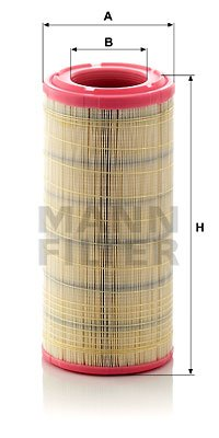 Luftfilter MANN-FILTER C 17 337/2 Bild 1
