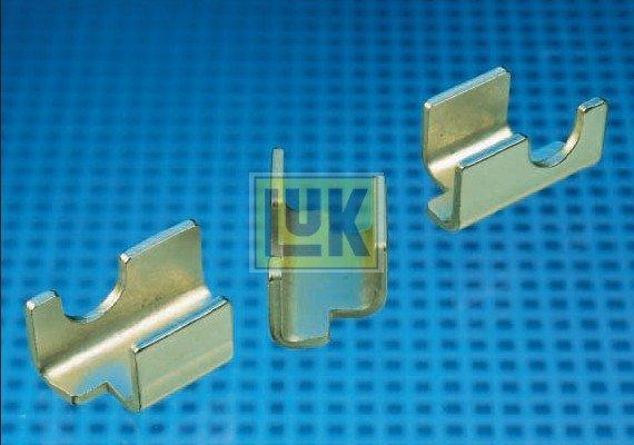 Halteklammersatz, Kupplungsdruckplatte LuK 400 0005 10