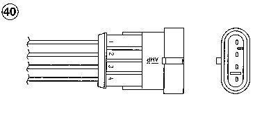 Lambdasonde NGK 0245