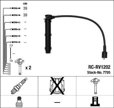 Zündleitungssatz NGK 7705