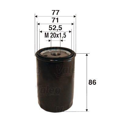 Ölfilter VALEO 586002