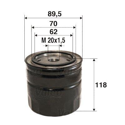 Ölfilter VALEO 586035