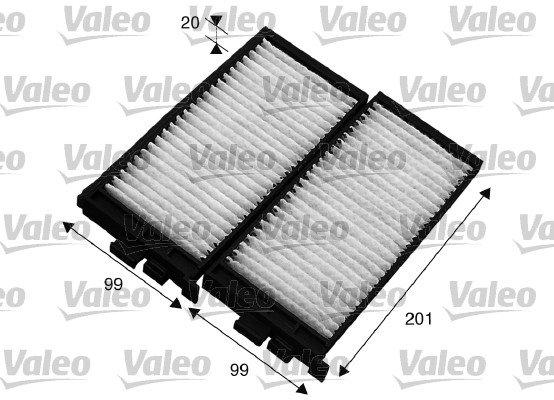 Filter, Innenraumluft VALEO 715566