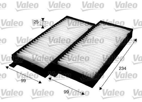 Filter, Innenraumluft VALEO 715624