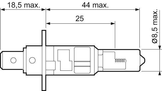 Glühlampe, Fernscheinwerfer 12 V VALEO 032003