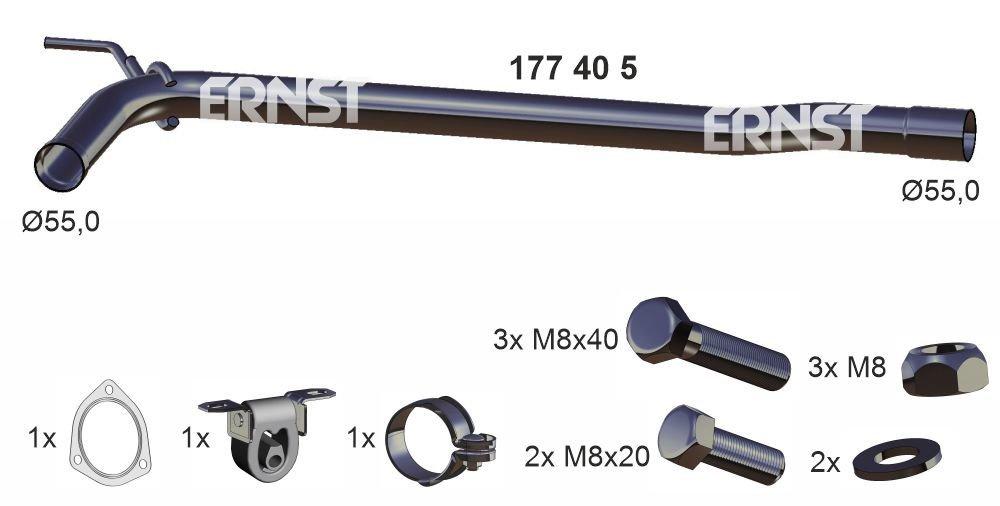 Reparaturrohr, Katalysator ERNST 177405