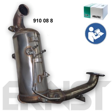 Ruß-/Partikelfilter, Abgasanlage ERNST 910088