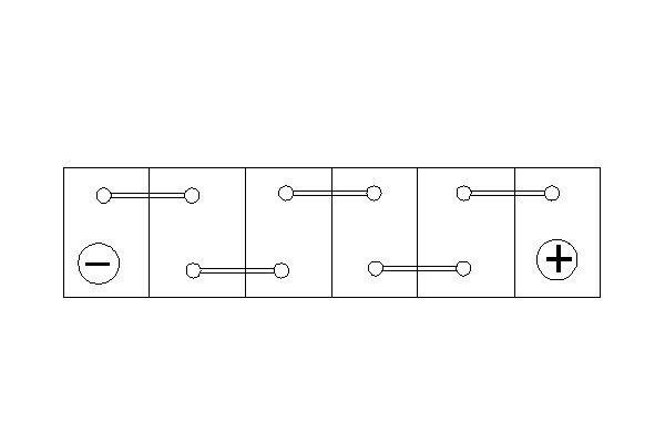 Starterbatterie 12 V 45 Ah BOSCH 0 092 S40 210 Bild 6