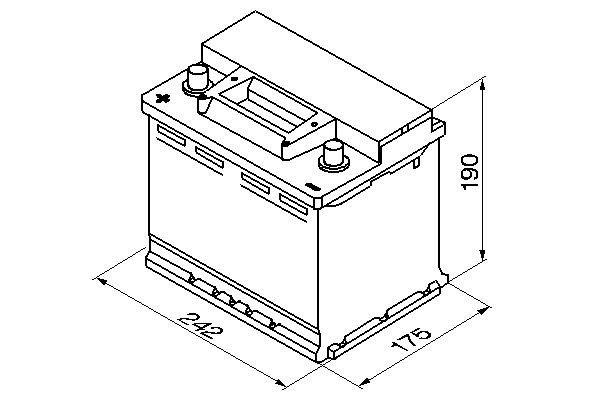 Starterbatterie 12 V 56 Ah BOSCH 0 092 S30 060 Bild 6