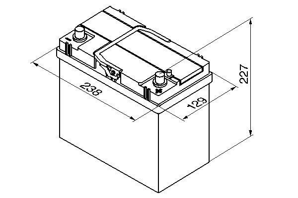 Starterbatterie 12 V 45 Ah BOSCH 0 092 S40 210 Bild 7