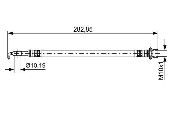 Bremsschlauch BOSCH 1 987 481 643