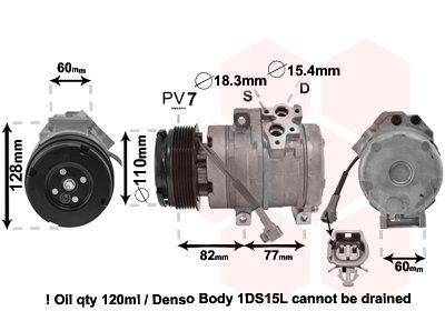 Kompressor, Klimaanlage VAN WEZEL 5100K101