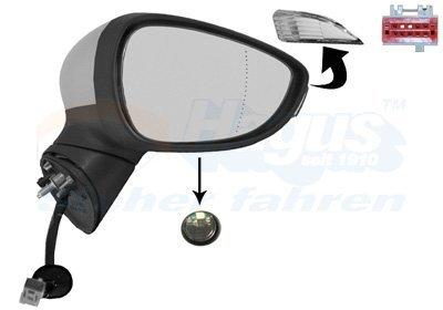 für FORD FOCUS III MONDEO IV BA7 Spiegelglas Rechts Konvex Heizb