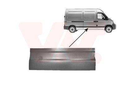 Tür, Karosserie seitlicherEinbau außen VAN WEZEL 4387175