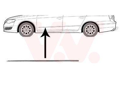 Zier-//Schutzleiste Tür Vorne links VW