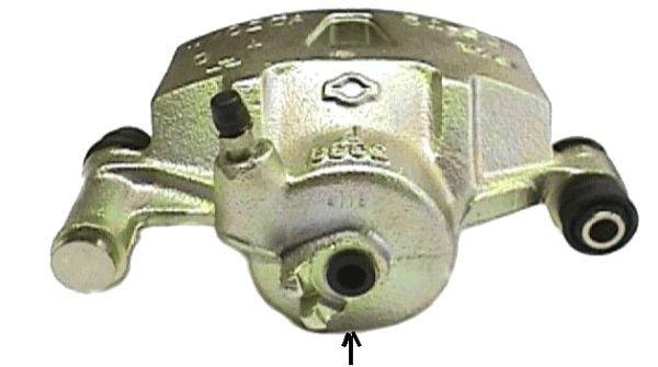 Bremssattel TEXTAR 38109400