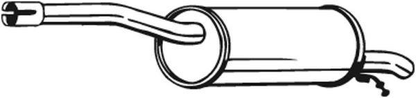 Endschalldämpfer BOSAL 200-005