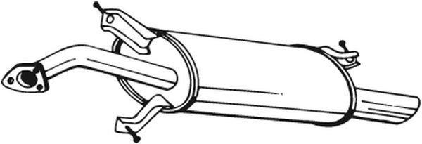 Endschalldämpfer BOSAL 235-161