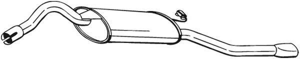 Endschalldämpfer BOSAL 280-621