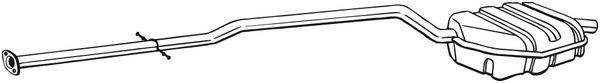Endschalldämpfer BOSAL 290-161