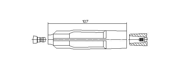 Stecker, Zündkerze BREMI 13343/2