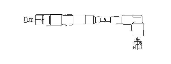 Zündleitung BREMI 150/95