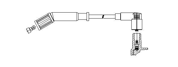 Zündleitung BREMI 178/65