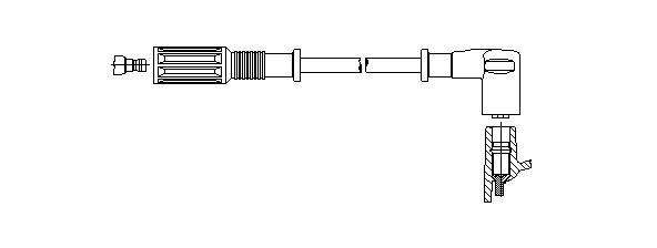 Zündleitung BREMI 670/40